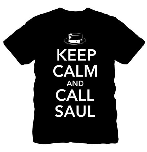 Breaking Bad - Keep Calm & Call Saul - T-Shirt (Medium)