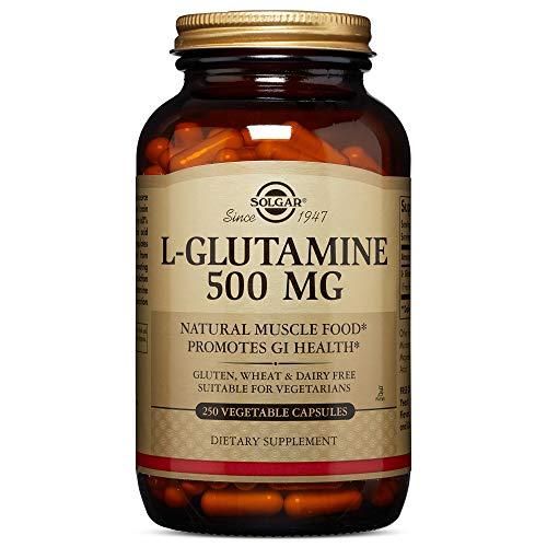 Solgar, L-Glutamine 500 mg 250 Vegetable Capsules (Solgar L Glutamine 500 Mg Vegetable Capsules)