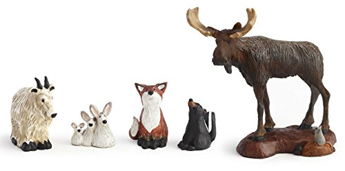 Demdaco Big Sky Carvers - BF Forest Nativity Friends (Big Sky Carvers Moose)