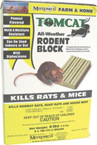 Tomcat 048745324654 Weather Rodent Block Pest Control, 1 lb