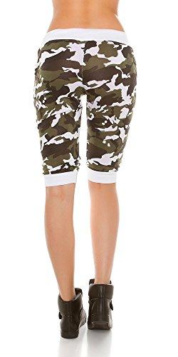 InStyle-Fashion - Pantalón - para mujer Weiß