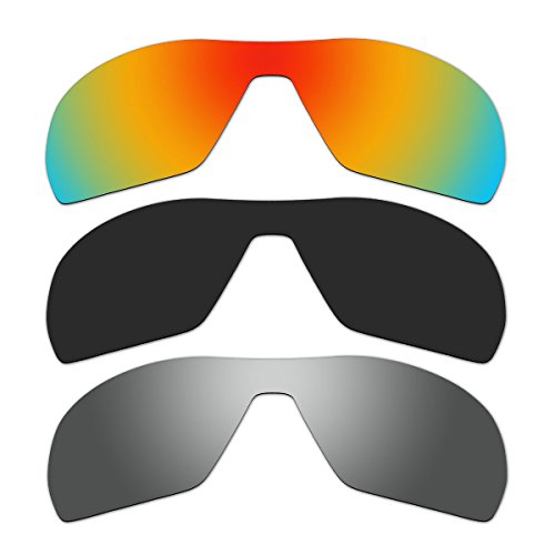 3 Pair Replacement Polarized Lenses for Oakley Offshoot Sunglasses Pack - Sunglasses Offshoot