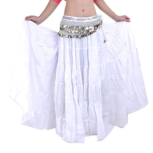Long Vintage Tribal Belly Dance Dancing Halloween Skirts Costumes for -