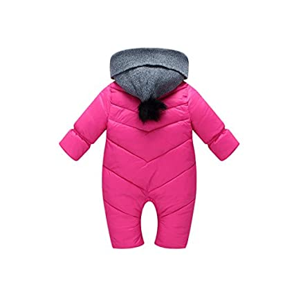 cdbcae9b0 Baby Hooded Snowsuit