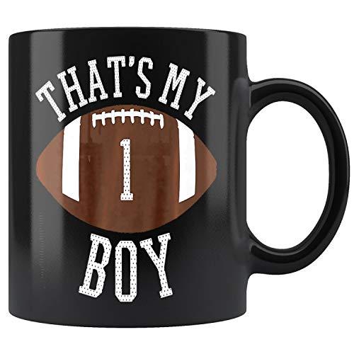 Thats My Boy #1 Football Number One Jersey Football Mom Dad Premium Mug Coffee Mug 11oz Gift Tea Cups 11oz