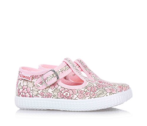 CIENTA - Pink Schuhe aus ökologischem und unbehandeltem Stoff, Kind, Mädchen