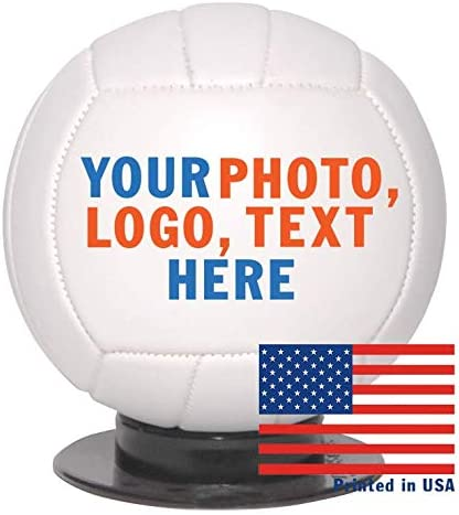 for Trophies 6 Inch Football Logos /& Text on Football Balls Custom Personalized Mini Football Ships in 3 Business Days High Resolution Photos Personalized Gifts