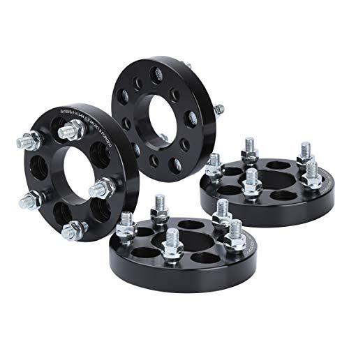5X100 to 5x114.3 Wheel Adapters for Toyota Dodge, KSP Chang Bolt Pattern 25mm Thread Pitch 12x1.5mm Hub Bore 64.1mm Wheel Spacers for Chevy Cavalier Lexus CT200H Scion Toyota Camry Celica Corolla Mat ()
