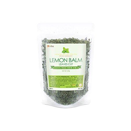 Lemon Balm Tea Leaf Cut Natural 100% Health Diet Tea Vitamin C Insomnia Digestion Reduces Anxiety (1 Pack)