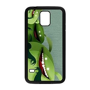 RELAY Cute Green Animal Custom Protective Hard Phone Cae For Samsung Galaxy S5