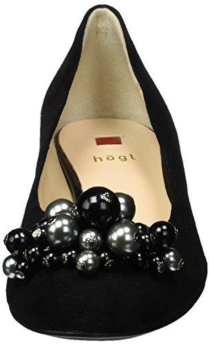 Noir 4 Högl Femme 0100 Schwarz 3172 Escarpins 10 YqxdqzP