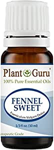 Fennel Sweet Essential Oil 10 ml. 100% Pure Undiluted Therapeutic Grade.