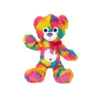 ToySource Huey the Greatful Bear Plush Collectible Toy, Rainbow, 11 Inches