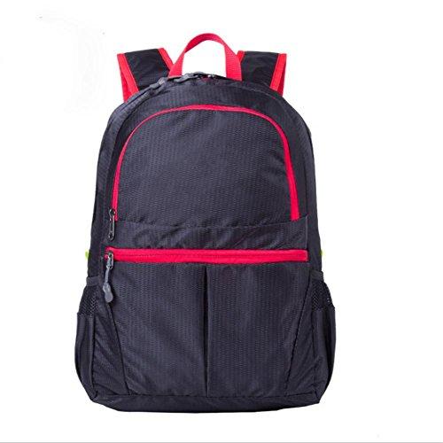 Nylon Los Bolsa De Blue Escalada color Libre 20l Multi Impermeable Aire Deportes Dark Black Plegable Al CqUzxz