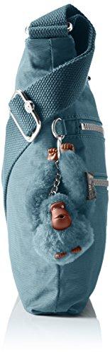Kipling Alvar - Bolsos bandolera Mujer Azul (Pastel Blue C)