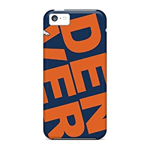 ILw6378uPCp Anti-scratch Case Cover SRamirezs Protective Denver Broncos Tilted Case For Iphone 5c