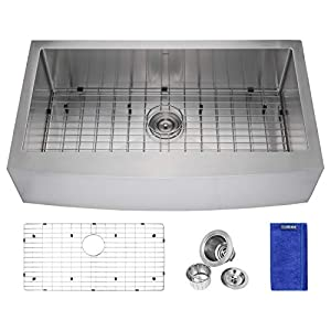 41Gp-VOa9jL._SS300_ 75+ Beautiful Stainless Steel Farmhouse Sinks For 2020