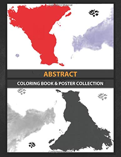 Coloring Book & Poster Collection: Abstract Random Color ...