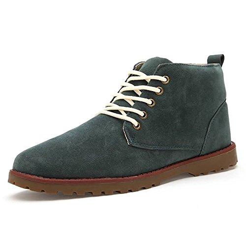 scamosciata da da uomo uomo Scarpe Desert Jiuyue pelle Chukka 2018 shoes Stivali Storm Verde originali classici Stivali Stivali in Pvx6w0