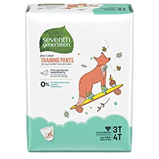 Seventh Generation Baby & Toddler Training Pants, Large Size 3T-4T, 88 count1