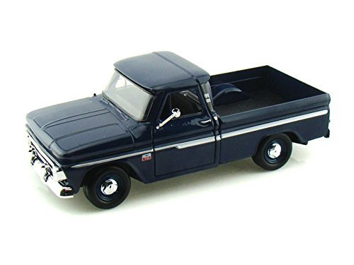 1966 Chevy C10 Fleetside Pickup 1/24 Dark Blue Chevy Fleetside Pickup