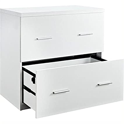 Awesome Bowery Hill 2 Drawer Lateral File Cabinet In White Interior Design Ideas Pimpapslepicentreinfo