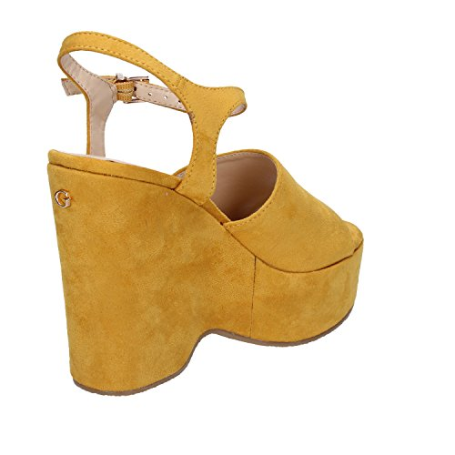 Zapatos De Guess Flkrl2esu03 Cuña Yellow Mujer qg545 842954cd779f