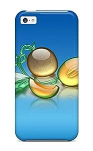 Hazel J. Ashcraft's Shop Premium Case With Scratch-resistant/ Aqua Melon Case Cover For Iphone 5c 6341033K44067975