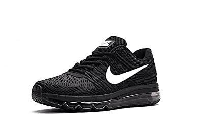 Nike AIR MAX 2017 Mens Black Running Sports Shoes: Buy