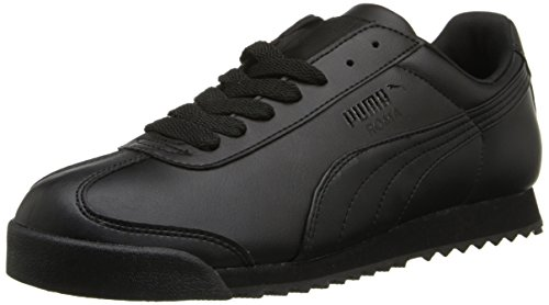PUMA Women's Roma Basic Sneaker,Black/Black,10 B US