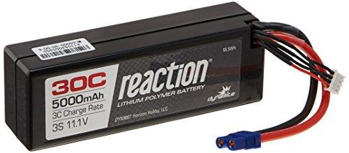 Dynamite Reaction 11.1V 5000mAh 30C 3S LiPo Hardcase: EC3, DYN9007EC ()