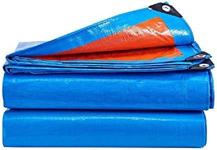 GQIANG タープ・ブルーシート タープ、屋外PVC防水日焼け止めレインシェード布カードトラックプラス厚いキャンバス (Size : 12m*8m)