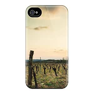 CaroleSignorile Cases Covers Protector Specially Made For Iphone 6 Sunset Over A Vineyard wangjiang maoyi wangjiang maoyi by lolosakes