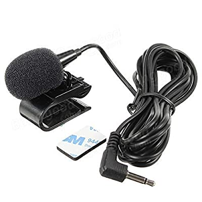 Hamanee 3.5mm Mic External Assembly Microphone for Car Vehicle Head Unit Bluetooth Enabled Audio Stereo Radio GPS DVD: GPS & Navigation