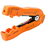 New 4.5 in. #10- #20 Gauge Wire and Cable Stripper Wire with Coaxial Cable
