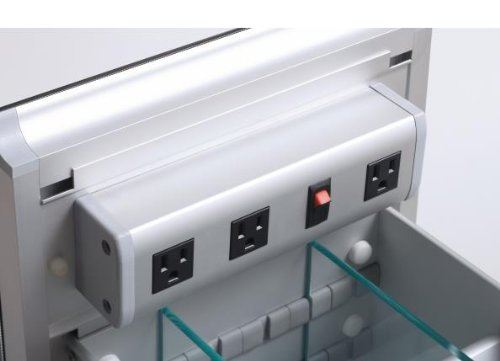 Robern CB-VDELECTRIC  Vanity Electrical Outlet Strip