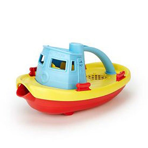 TUG BOAT,BLUE , Pack of 3
