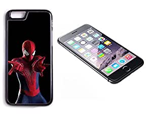 iPhone 6 Black Plastic Hard Case with High Gloss Printed Insert The Amazing Spiderman by lolosakes