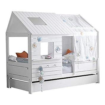 LIFETIME Kinderbett SILVER SPARKLE Hausbett 90x200cm ...