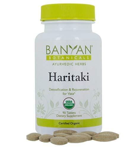 (Banyan Botanicals Haritaki - USDA Organic, 90 Tablets - Terminalia chebula - Detoxification & Rejuvenation*)