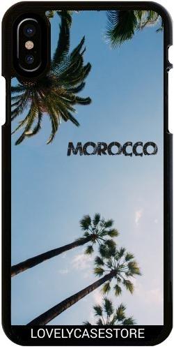 Funda para Iphone X - Palmer Marruecos Marakech Cielo Azul ...