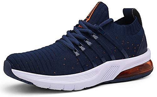 TUBYGO Running Shoes for Mens Womens Breathable Air Cushion Gym Lightweight Tennis Sport Walking Athletic Casual…