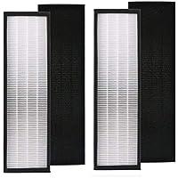 Ximoon 2 Pack True HEPA Filter B for GermGuardian FLT4825 FLT4800 Air Purifiers AC4300 AC4800 AC4900 AC4900CA AC4825 AC4825e AC4850PT, PureGuardian AP2200CA, Black & Decker BXFLTY BXAP148