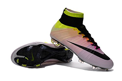 880f3cef2 Allenny Shoes Mens Mercurial Superfly FG Rainbow Soccer Football Boots Size  US10. video