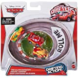 Cars Micro Drifters Rip Clutchgoneski, Miguel and Lightning McQueen Toy Vehicle, 3-Pack