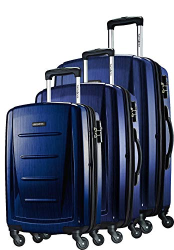 (Samsonite 3-Piece Set, Navy)