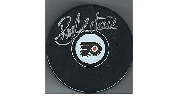 a9b3a058f Autographed Ron Hextall Philadelphia Flyers Hockey Puck at Amazon s Sports  Collectibles Store
