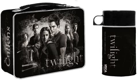NECA Twilight Lunchbox Bella and Cullens
