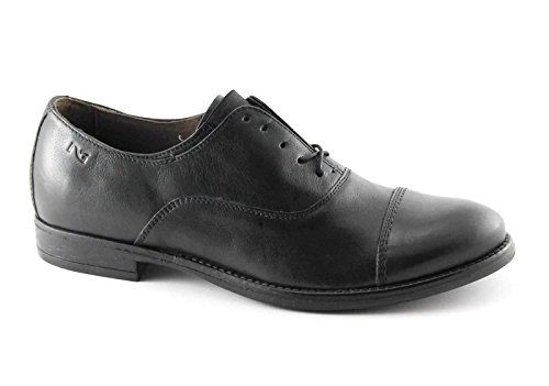 Nero Giardini - Zapatos de cordones para hombre negro negro negro