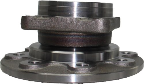 Brand New Front Wheel Hub and Bearing Assembly 1994-99 Dodge Ram 2500, Ram 3500 4x4 8 Lug W/o ABS 515012 (2500 Front Hub Wheel)